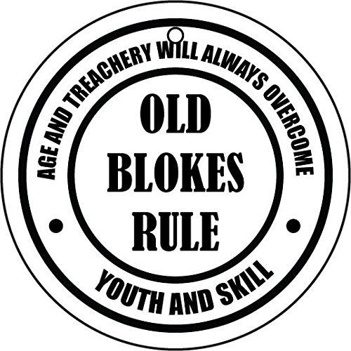 Old blokes rule