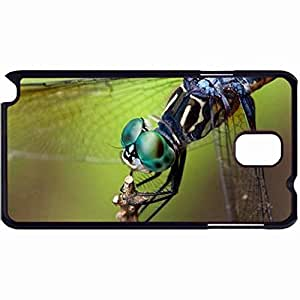 New Style Customized Back Cover Case For Samsung Galaxy Note 3 Hardshell Case, Back Cover Design Dragonfly Head Personalized Unique Case For Samsung Note 3