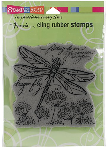STAMPENDOUS Cling Stamp, Dragonfly Wings