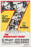 The Magnificent Seven (1960) Movie Poster 24x36 inches Charles Bronson