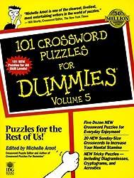 101 Crossword Puzzles For Dummies, Volume 5