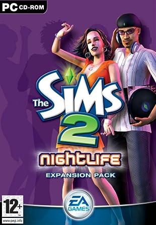 The Sims 2: Nightlife Expansion Pack (PC CD) [Importación inglesa]: Amazon.es: Videojuegos