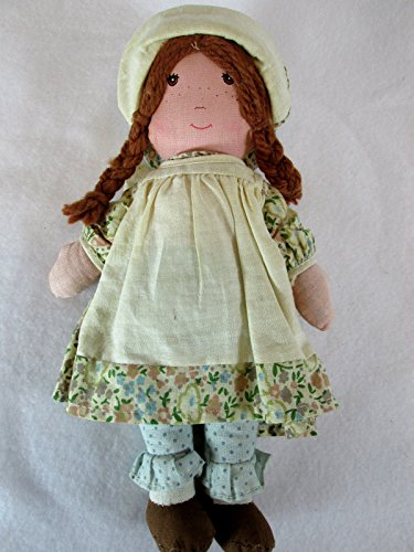 vintage-1970s-holly-hobbie-heather-9-plush-rag-doll-by-knickerbocker