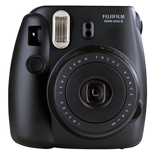 Fujifilm 301014053 Camara Instax Mini 8 Compacta, Fotografia Instantanea, negra