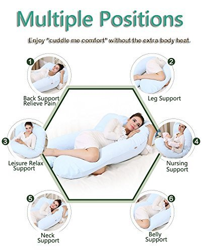 Gzyf Unique U Shaped Total Body Support Pillow For Side
