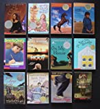 img - for Set of 12 Newbery Medal/Honor Chapter Books (Tuck Everlasting ~ Sarah Plain and Tall ~ King of the Wind ~ Caddie Woodlawn ~ Everything on a Waffle ~ Ella Enchanted ~ Gone-Away Lake ~ The View From Saturday ~ On My Honor ~ Maniac Magee ~ Dear Mr. Henshaw ~ Hoot) book / textbook / text book