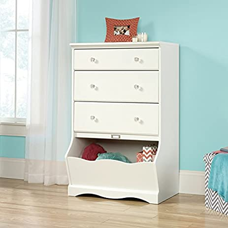 Ordinaire Sauder Woodworking 417103 White 3 Drawer Chest Kids Childrens Bedroom  Dresser