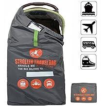 Beschan XL Stroller Gate Check Travel Bag for Airport,Airplane Gate Check,Car Trips - Standard or Double / Dual Stroller Gate Check Bag