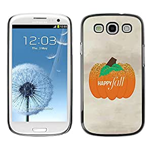 For SAMSUNG Galaxy S3 III / i9300 / i747 Case , Snow Winter Blue Sky Nature - Diseño Patrón Teléfono Caso Cubierta Case Bumper Duro Protección Case Cover Funda