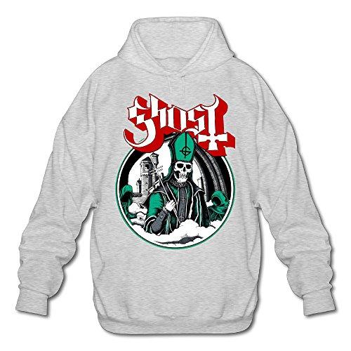[PHOEB Mens Sportswear Drawstring Hoodies Outwear Jacket,Ghost B.C. Ash XX-Large] (Slimer Costume Plus Size)