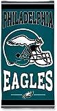NFL Philadelphia Eagles 2015 Fiber Reactive Beach Towel 30 x 60