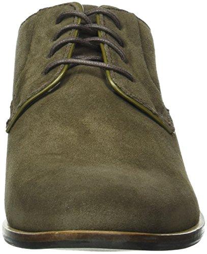 Rockport Birch Lake Blucher, Zapatos de Cordones Derby para Hombre Verde Oscuro
