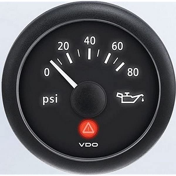 VDO Computers Marine 2-1//16 Inch 52mm A2C59514128 Viewline Oil Pressure Gauge