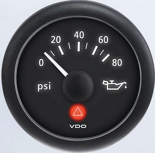 VDO A2C53412998-S Oil Pressure Gauge by VDO
