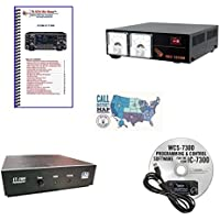 Icom IC-7300 Accessory Pack Bundle - - WCS 7300 Programming Software and Cable - Nifty Guide - LDG IT-100 Auto-Tuner - Samlex 30A Switching Power Supply and Ham Guides Pocket Reference Card Bundle!