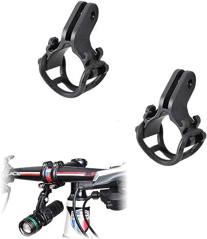 Bicycle Handlebar Flashlight Holder Bike Sports Camera Light Lamp Rack Clamp Kit