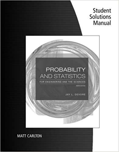 Student solutions manual for devores probability and statistics student solutions manual for devores probability and statistics for engineering and the sciences 9th 9th edition fandeluxe Gallery