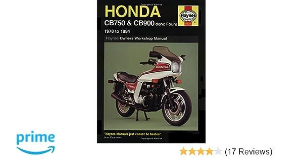Honda cb 750 900 7983 haynes repair manuals haynes honda cb 750 900 7983 haynes repair manuals haynes 0038345005350 amazon books fandeluxe Gallery