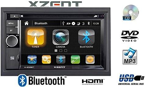 Xzent X202bt Mk2 2 Din Moniceiver Mit Bluetooth X 202bt Mk2 Navigation