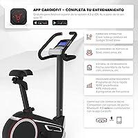 SportPlus SP-HT-9600-iE Bicicleta Estática con Aplicación para Smartphone, Google Street View, Potenciómetro, Unisex Adult, Multicolor, 102 x 51 x 140 cm: Amazon.es: Deportes y aire libre