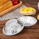 Disposable 2.7 inch Aluminum Foil Tart/Pie Pans