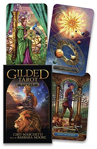 Gilded Tarot Royale Deck Cards – April 8, 2020