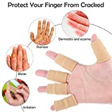 30 Pieces Finger Sleeves with 1 Storage Bag, Thumb