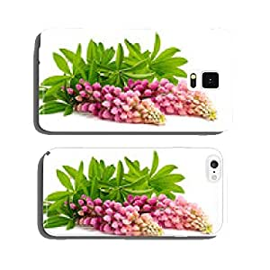lupine flower isolated on white cell phone cover case iPhone6 Plus