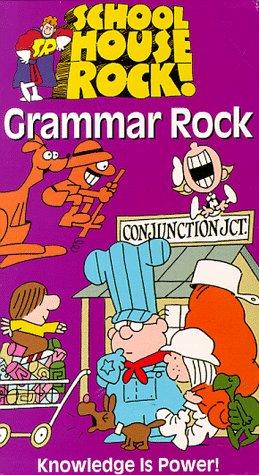 Schoolhouse Rock!: Grammar Rock (Animated) [VHS]