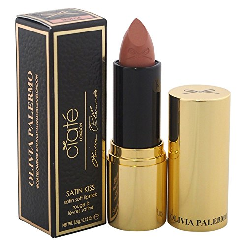 Ciate London Olivia Palermo Satin Kiss Lipstick for Women, Truffle/Soft Pink Nude, 0.12 - Olivia Palermos