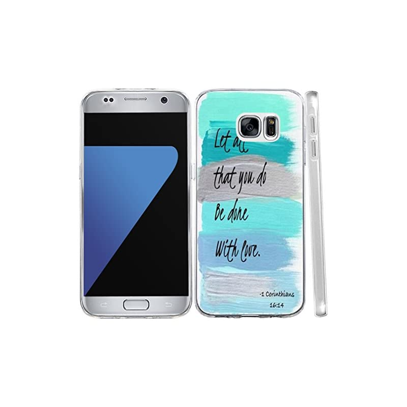 S6 Case Christian Quotes, Hungo Cover So