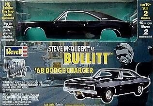 851514 1/25 '68 Bullitt Dodge Charger Metal by Unknown