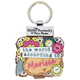 World According to Keyring Book Marissa Key Chain (1840288)