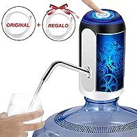 Dispensador de agua automático, bomba de agua potable eléctrica inalámbrica Botella recargable Agua potable Bombeo...