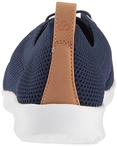 Step Women's Navy AllenaSun Textile CLARKS Sneaker p1xZwqqF