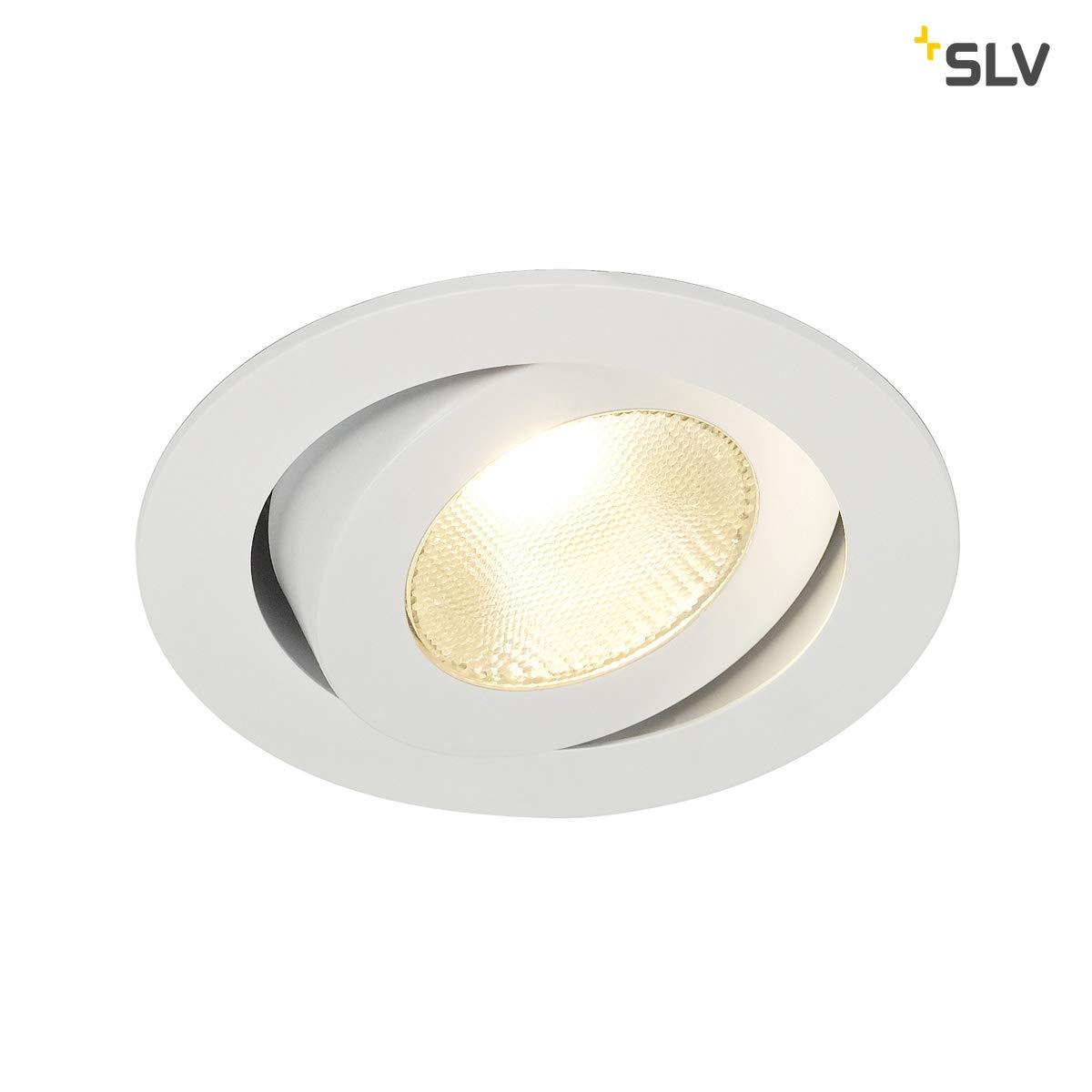 SLV CONTONE Einbauleuchte, Aluminium, 16 16 16 W, weiß 8bb438