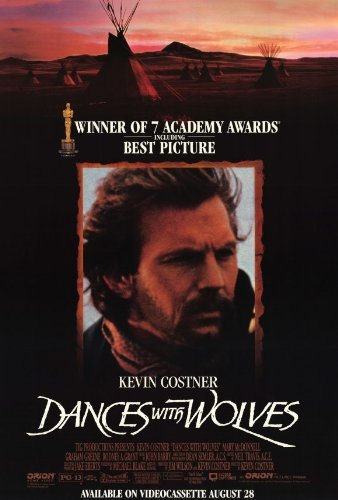 Dances With Wolves POSTER Movie (27 x 40 Inches - 69cm x 102cm) (1990) (Style B) (Dance Movie Poster)