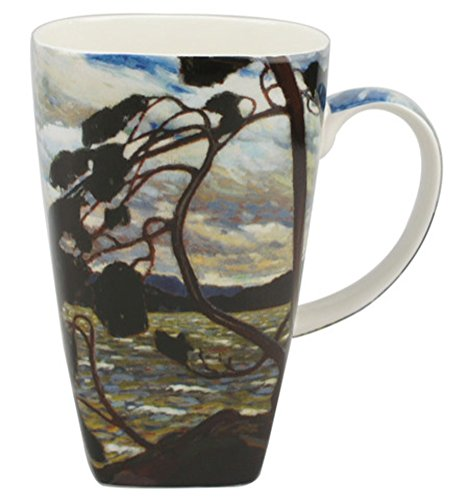 tom-thomson-the-west-wind-grande-coffee-mug-in-a-matching-gift-box-6-tea-bags-bundle-2-items