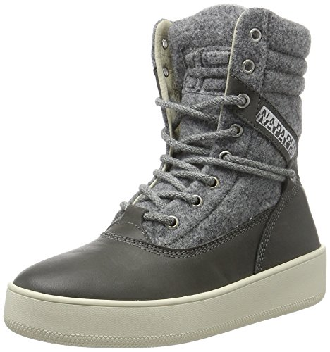 Basses Nova Gris Grey N88 Dark Baskets Femme Napapijri TEA4qx