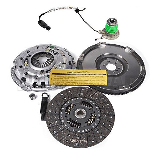 LUK CLUTCH KIT+SLAVE+FLYWHEEL 05-13 CORVETTE C6 6.0L LS2 6.2L LS3 Z06 7.0L LS7 Corvette Replacement Clutch Kit