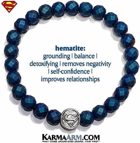 2e92410f48dab KarmaArm Superman Bracelets