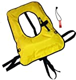Crafted in the USA Explorer Snorkel, Snorkeling Vests (GOLD, ADULT)