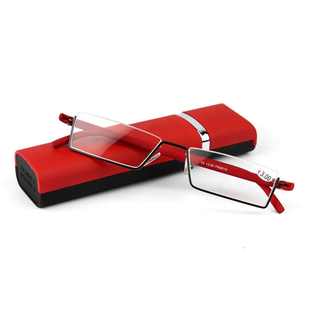 Elderly reading glasses natural wood rimless glasses glasses box vision disorder (2.5)