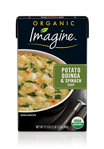 (Imagine Organic Soup, Potato Quinoa & Spinach, 17.3 oz. (Pack of 12))