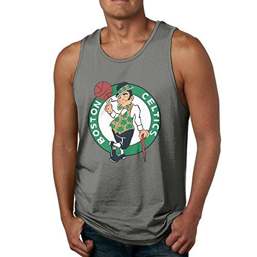 Barbad Sandxa Men's NBA-Boston-Celtics-CEL-Badge Tank Top Workout