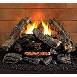 ProCom HearthSense A-2 Ventless Gas Logs - Remote Ready - 18 inch - Propane