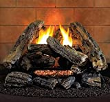 ProCom HearthSense A-2 Ventless Gas Logs - Remote Ready - 24 inch - Propane