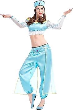 KIRALOVE Disfraz de Princesa jazmín - Bailarina de Danza del ...