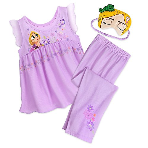 Disney Rapunzel Deluxe Character PJ Set For Kids Size 5/6 449024521342