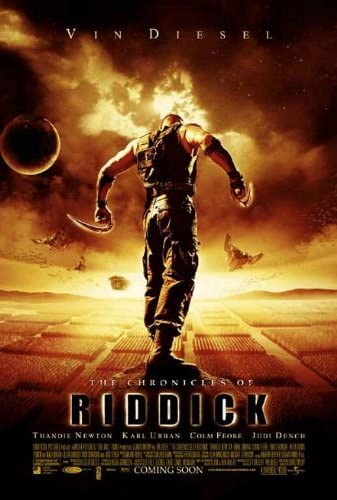 Amazon.com: CHRONICLES OF RIDDICK MOVIE POSTER 2 Sided RARE ORIGINAL 27x40  VIN DIESEL: Prints: Posters & Prints